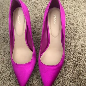 Aldo Shoes - Aldo fuchsia heels